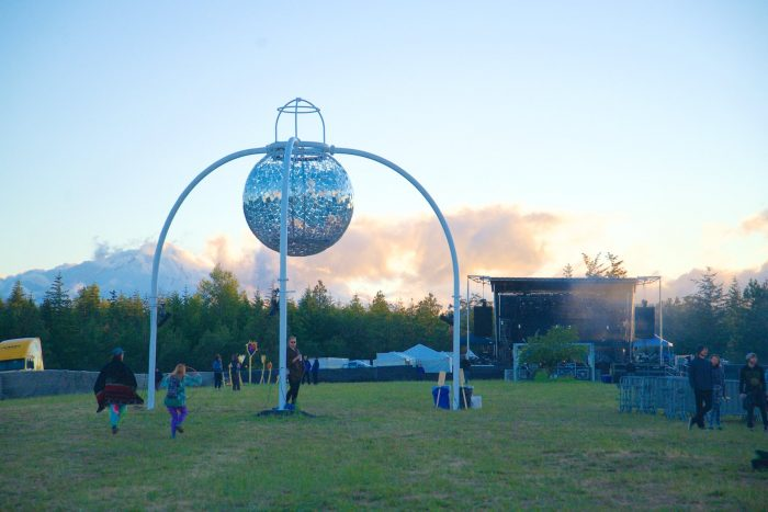 The View Towards the WTF Stage - Saturday Sunset