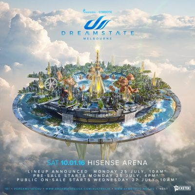 Dreamstate Australia Announcement