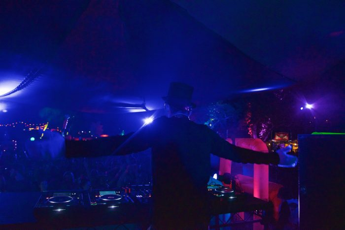 Claptone brought the big house party on Saturday night