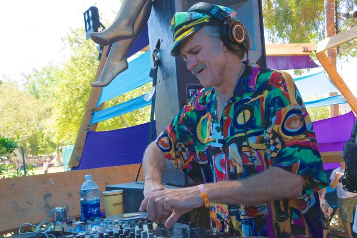 Lee Reynolds bringing the Desert Hearts party Sunday at The Hive