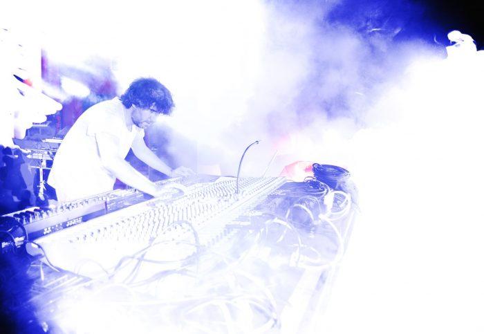 Mathew Jonson's live set at the Kaleidiscope Stage killing it Sunday Night