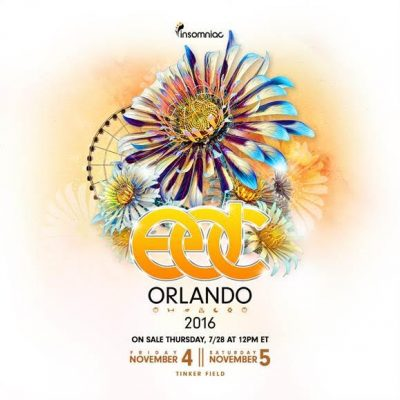 EDC Orlando 2016 Date Reveal