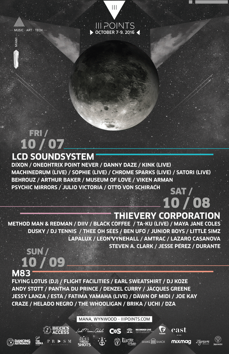 Ill Points 2016 Daily Lineup
