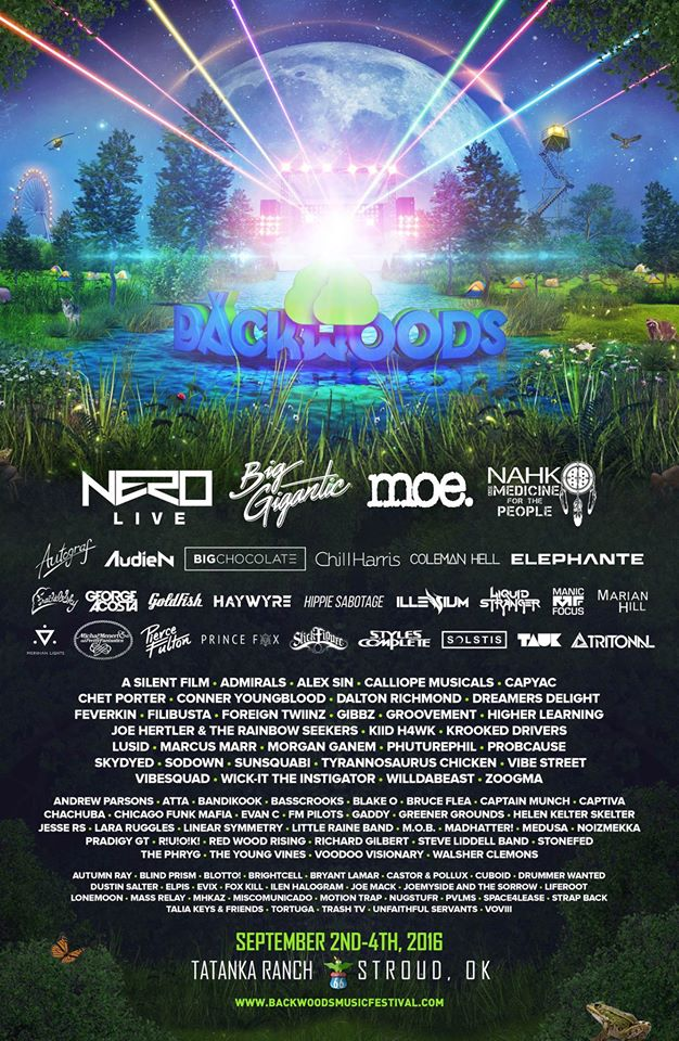 Backwoods Music Festival 2016