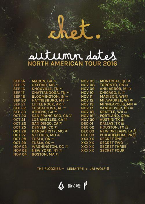 chet porter dates