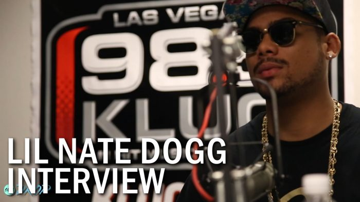 thatDROP's Exclusive Lil Nate Dogg Interview with DJ Co1 at Las Vegas' 98.5 KLUC radio station