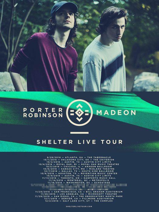 Porter Robinson & Madeon // Shelter Live Tour 2016