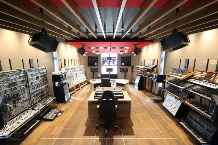 deadmau5's Home Studio // Photo via Magnetic Mag
