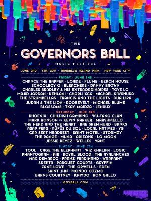 Gov Ball 2017 day by day