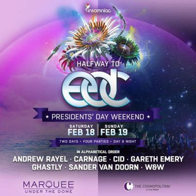Halfway to edc LV 2017 lineup released
