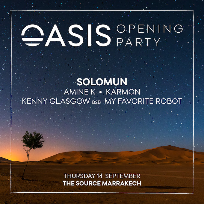 oasis opening party