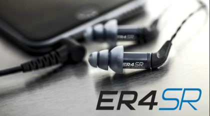 02f379ca574052 The new ER4 earphones look chic and bring the sound quality of Red Rocks  Amphitheater to your pocket.