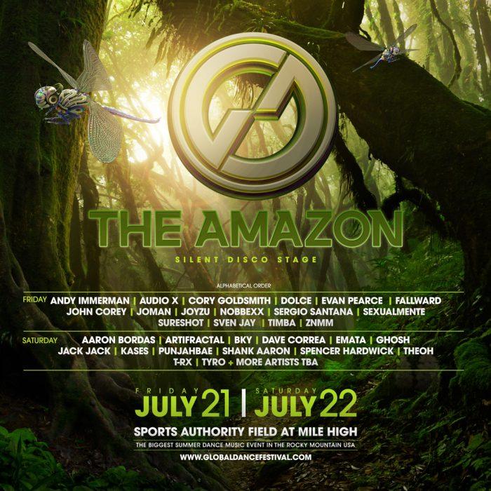 The Amazon via Global Dance Festival