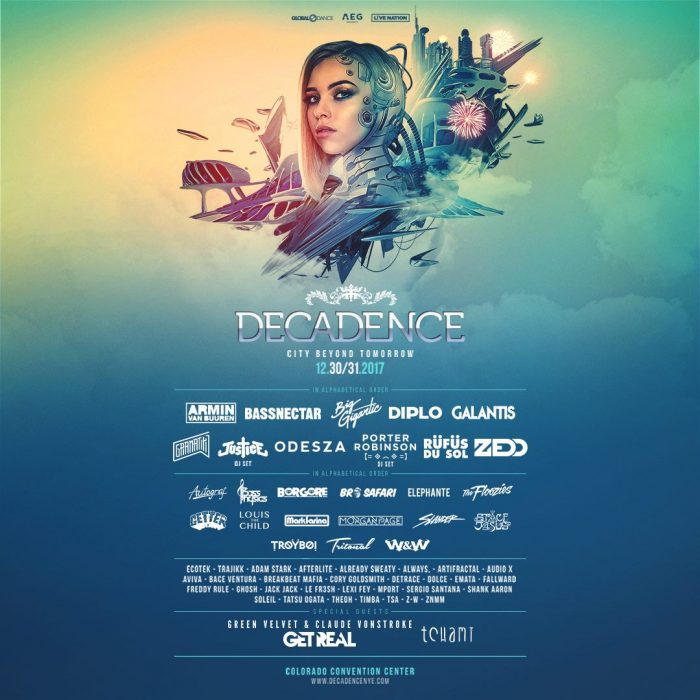 """Decadence Colorado: """"The City Beyond Tomorrow"""" Is The NYE"""