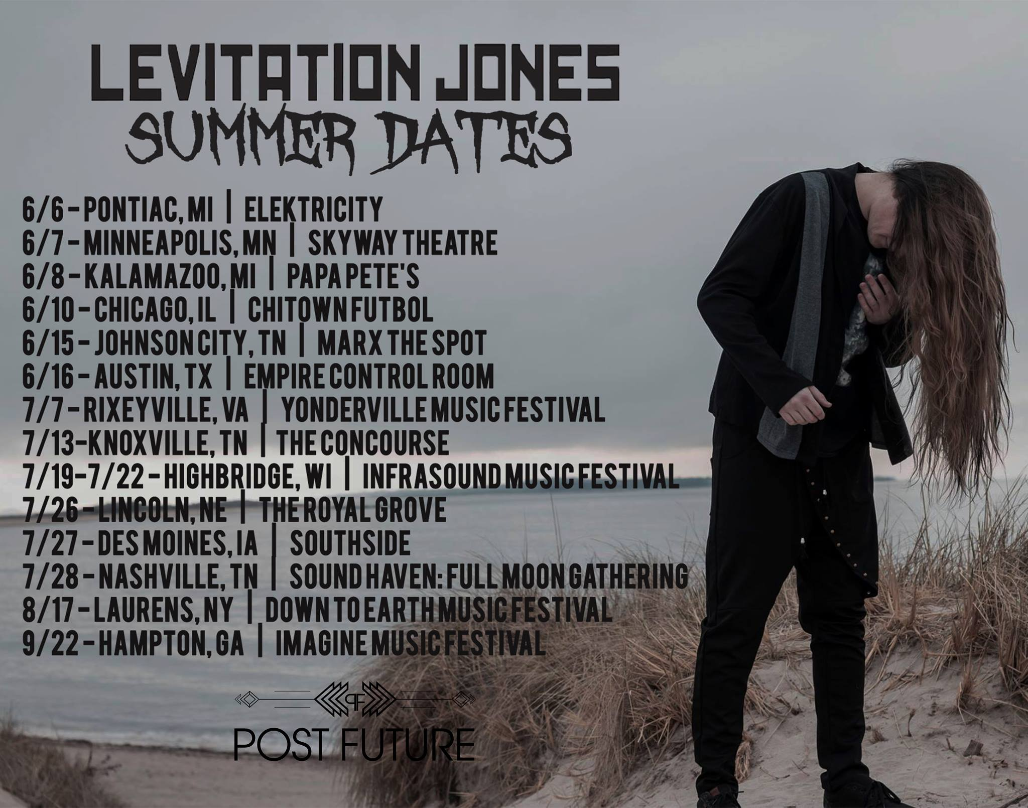Levitation Jones Summer 18
