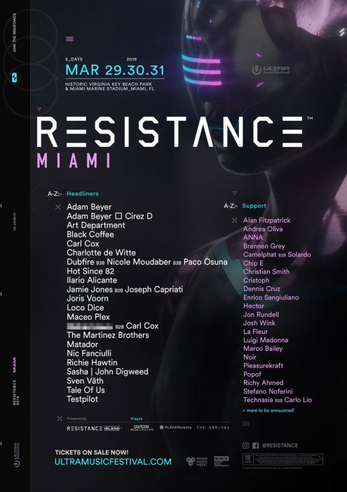 The Ambitious RESISTANCE 2019 Lineup and Production Plans