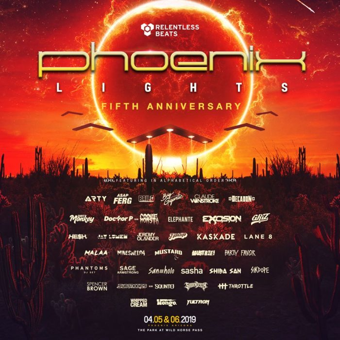 The Otherworldly Experience that Awaits at Phoenix Lights 2019