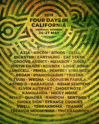 Ozora Southern California Lineup 2019