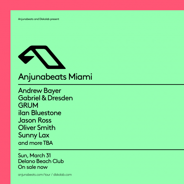 Anjunabeats Run 2 Nights During Miami Music Week