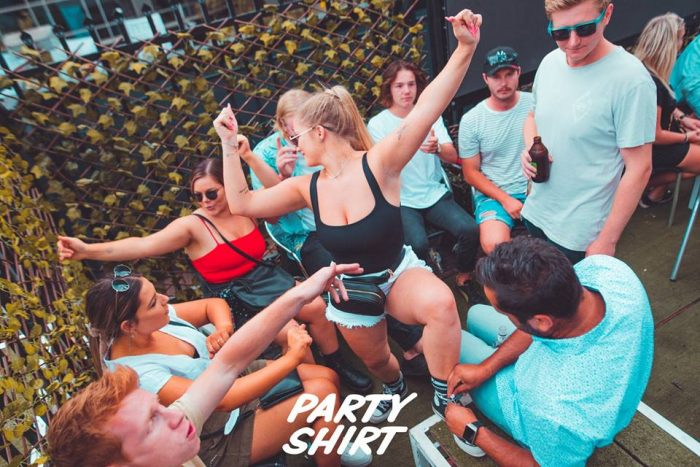 Revival Disco, Tech House Duo PARTY SHIRT in the Hot Seat