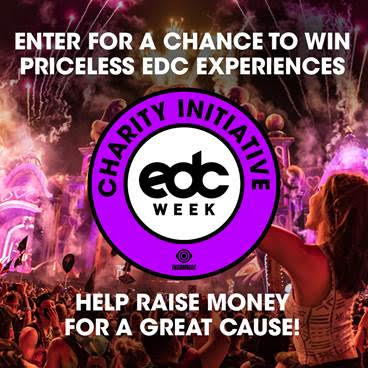 Donate to Win Premium VIP Experience at EDC Las Vegas