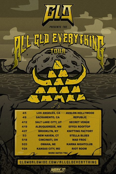 All GLD Everything Tour Poster