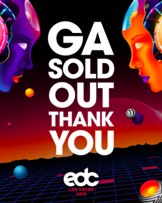 EDC General Admission Officially Sold Out