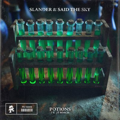 Slander and Said The Sky Drop 'Potions' on Monstercat Music Video]