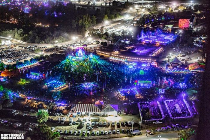 Nocturnal Wonderland Over the Years