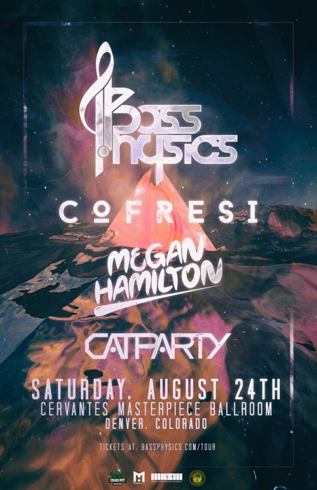 Bass Physics Will Roll Out New Sound for Cervantes Headline Spot