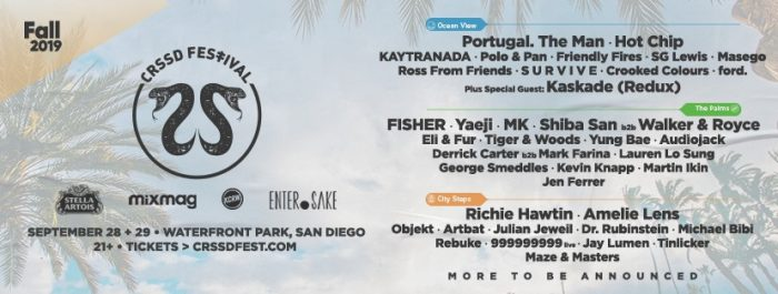 5 Artists to Blame for CRSSD Festival FOMO this Fall