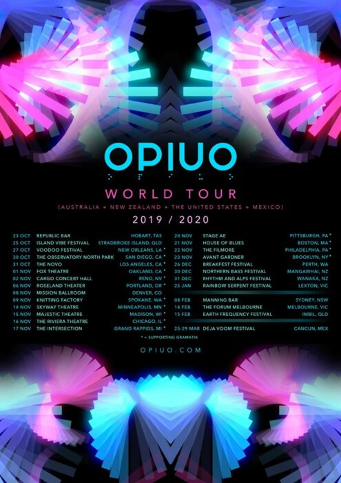 Our Backstage Chat with OPIUO at The Novo Halloween Night