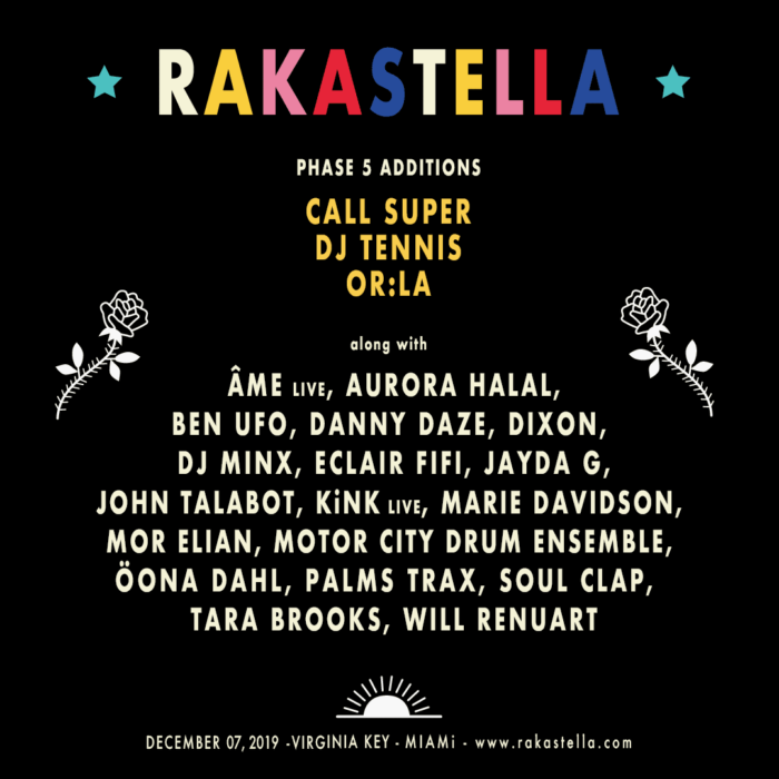 Music Showcase of Rakastella, Art Basel Miami's Proper Close Out Party