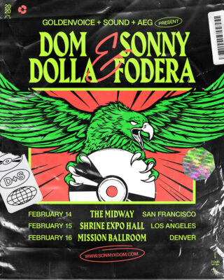 Sonny Fodera Dom Dolla Tour 2020