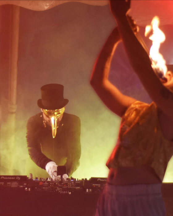 CLAPTONE in the Circus, Wednesday Sets with Performance Artists